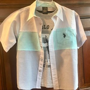 NWOT US Polo Assoc. Shirt Set